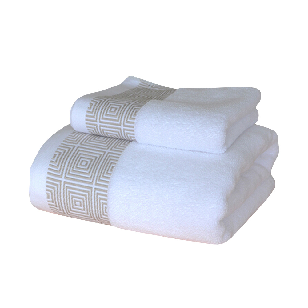 Blancho Soft Hotel/Spa Bath Towel,Cotton Towel Strong Absorbency White